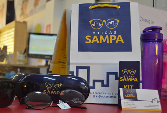 Agência de Comunicação - Logotipo Oticas Sampa
